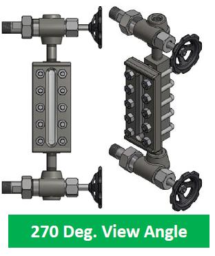270 Deg View Angle