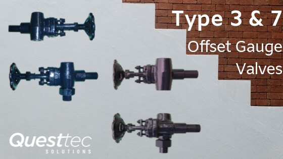 Type 3 and 7 Offset Gauge Valves