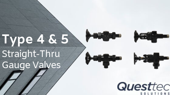 Type 4 & 5 Straight-Thru Gauge Valves