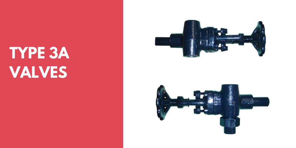 Low Emission Type 3A Valves